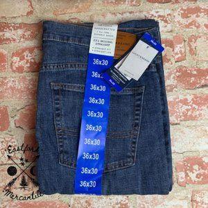 NEW Lucky Brand 221 Original Straight Leg Jeans 36